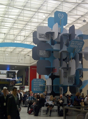 (This year's Ecobuild conference, which showcases technologies for sustainable cities)