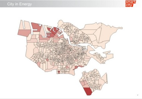 "(Graphic of energy use in Amsterdam from ""Smart City Amsterdam"" by Daan Velthauzs)"