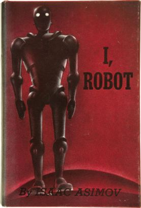 "(Isaac Asimov's 1950 short story collection ""I, Robot"", which explored the ethics of behaviour between people and intelligent machines)"