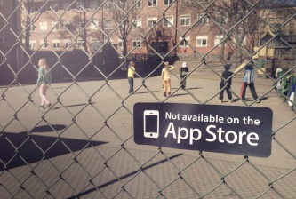 "(""Not available on the App Store"": a campaign to remind us of the joy of play in the real world)"